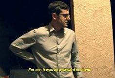 Basically every date you go on: | 19 Louis Theroux Screenshots That Perfectly Summarise Tinder