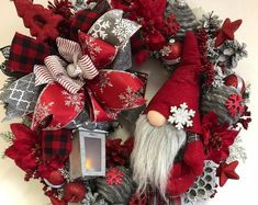 Christmas Wreaths For Front Door, Christmas Mantels, Outdoor Christmas Decorations, Holiday Wreaths, Holiday Decor, Winter Wreaths, Snowman Decorations, Spring Wreaths, Summer Wreath