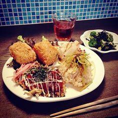 ある日のランチ One day's lunch  #veganic #vegan #veganicjp #vege #macrobiotic #veganfoodshare #tokyo  #sakukobo #さくちゃん工房 #ビーガン #ヴィーガン #ビーガニック #ベジタリアン #菜食 #素食 #マクロビオティック #板橋区 #大山 #夜食テロ