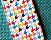 multi-color houndstooth from Pencil Shavings Studio on Etsy