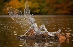 robin wight fairy sculptures | Gallery: Incredible Fairy Sculptures in Motion are Handmade from ...