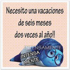 Postales Para Compartir.: NECESITO UNAS VACACIONES...