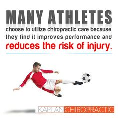 If you're an #athlete make sure you incorporate #chiropractic care into your fitness program for optimal results & performance! #MiamiBeach