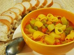 Receita Entrada : Sopa de legumes à italiana! de COM CAPRICHO