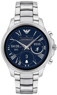f5e064fb8d83 Emporio Armani Connected Touchscreen Smartwatch - Men Wrist Watch on YOOX.  The best online selection of Wrist Watches Emporio Armani Connected.