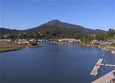 Greenbrae, California and Mount Tamalpais