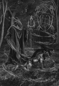 The Primal WitchCraft of Hecate Dark Gothic, Gothic Art, Primal Craft, Theistic Satanism, Amor Universal, Myths & Monsters, Traditional Witchcraft, Fantasy Inspiration, Dark Souls