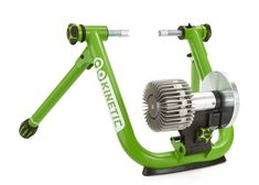 - Smart version includes Kinetic inRide sensor pre-installed on the trainer - flywheel for realistic coast down - PowerTap calibrated resistance unit - Sealed fluid chamber with magnetically coupled driveshaft is guaranteed not to leak - rol Cycling Equipment, Outdoor Power Equipment, Cycling Gear, Indoor Bike Trainer, Power Training, Bicycle Maintenance, Cool Bike Accessories, Trainers, Rollers