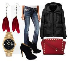 """""""www.fashionyouknow.se"""" by sofie-wester on Polyvore featuring Rock Revival, Giuseppe Zanotti, Geox, MICHAEL Michael Kors, OSCAR Bijoux and Rolex"""