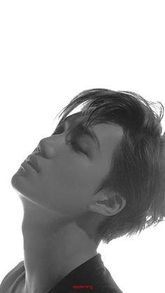 Park Chanyeol Exo, Kpop Exo, Exo Kai, Baekhyun, Asian Men Long Hair, Huang Zi Tao, Exo Lockscreen, Black And White Love, Exo Korean