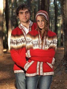 Alpacawol unixes vest met capuchón