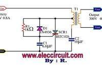 Scr Mini Power Inverter Circuit Diagram Power Inverters Circuit Diagram Circuit