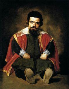"""""""Sebastian the Dwarf"""" by Diego Velasquez (1645)"""