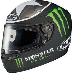 HJC RPS-10 Ben Spies Monster Motorcycle Helmet Mens Motorcycle Helmets 92cecdb949c