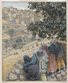 The Disciples Eat Wheat on the Sabbath (Les disciples mangent du blé au sabbat) : James Tissot : Free Download & Streaming : Internet Archive