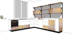 Nieuw ontwerp keuken. Underlayment en LG HiMacs. By Justus & Tjebbo Interieur