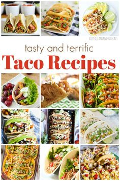 25 Tasty and Delicious Taco Recipes|Ripped Jeans and Bifocals  #TacoTuesday recipes galore. If you're looking for your new favorite taco recipes, it's probably right here.