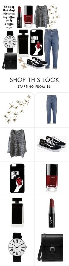 """""""Always Looking Good"""" by beerrks ❤ liked on Polyvore featuring Global Views, Yves Saint Laurent, J.Crew, Chanel, Narciso Rodriguez, NYX, Rosendahl, Mulberry and Candela"""