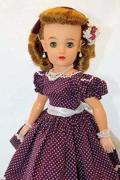 "Lovely Doll Ideal's Miss Revlon VT 20 Vintage 50's 20"" Fashion Doll Cissy PAL   eBay"