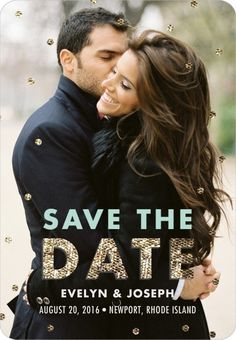Save the Dates | Wedding Paper Divas | #SaveTheDate #Weddings