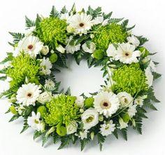 E-mail - Anja Cornelissen - Outlook Flower Wreath Funeral, Funeral Flowers, Wedding Flowers, Funeral Floral Arrangements, Large Flower Arrangements, Grave Flowers, Church Flowers, Arte Floral, Memorial Flowers