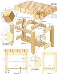 Butcher Block Island #woodworkingplans