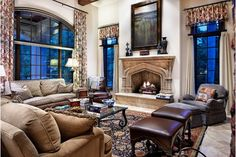 Luxury Living Room - Home and Garden Design Idea's
