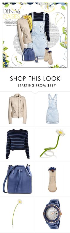 """""""Denim & Daisies"""" by helleka ❤ liked on Polyvore featuring Jason Wu, MSGM, TIBI, Maison Margiela, Carven, Laurence Dacade and Kenneth Jay Lane"""