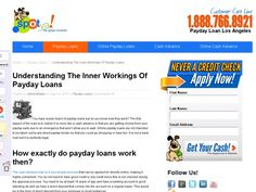 You have surely heard of payday loans but do you know how they work? The first aspect of the loan is to realize it is more like a cash advance in that you are getting money from your payday early due to an emergency that won't allow you to wait. Online payday loans are not intended to be taken out by any direct payday lender so that you could go shopping or have fun. It is not a bank loan but it is perfectly legal.