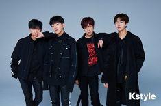 Monsta X I.M, Kihyun, Minhyuk & Hyungwon for Kstyle