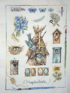 Pictures painted by Marjolein Bastin   Marjolein Bastin Cross Stitch