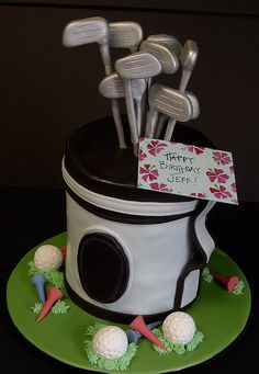 golf bag by robynlovescake