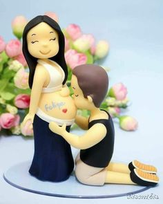 1 million+ Stunning Free Images to Use Anywhere Baby Cakes, Baby Shower Cakes, Baby Boy Shower, Cake Topper Tutorial, Fondant Tutorial, Cake Toppers, Rodjendanske Torte, Bebe Shower, Fondant Figures