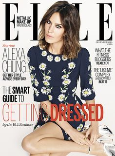 Alexa Chung Is ELLE's December Cover Star | Fashion, Trends, Beauty Tips & Celebrity Style Magazine | ELLE UK