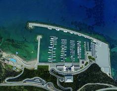 Karpaz gate Marina, where luxury yachts dock in the Eastern Mediterranean. Yatch Boat, Cyprus Holiday, North Cyprus, Boat Dock, Luxury Yachts, Travel Guides, Gate, City Photo, Cruise