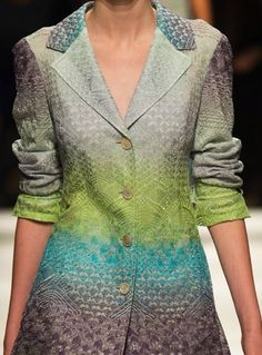patternprints journal: PRINTS, PATTERNS AND SURFACE EFFECTS: BEAUTIFUL DETAILS FROM MILAN FASHION WEEK (WOMAN COLLECTIONS SPRING/SUMMER 2015) / Missoni