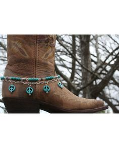 Boot Candy Boot Candy Naturals, Turquoise Peace
