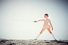 Collezioni magazine summer 2013 kids fashion for spring 2013 using graphic shapes and spots.