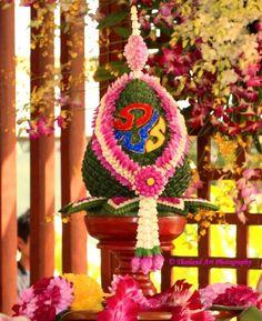 Flower Decoration for King´s Birthday Thailand