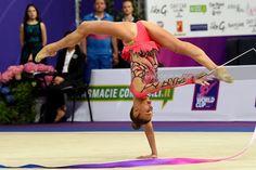 Alexandra SOLDATOVA (Russia) ~ Ribbon @ World Cup Pesaro-Italy  04/'17 ❤️❤️    Enrico Della Valle.