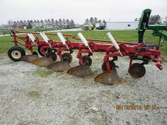 IH 720 5-Bottom Semi-Mount Plow/From Tri Green Tractor,Flora,Indiana