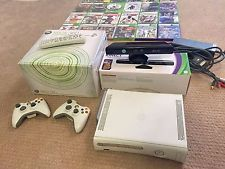 Microsoft Xbox 360 Console with Kinect and 25 Games