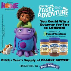 DreamWorks HOME Giveaway { Including a $25 Visa Gift Card } Ends 4.7.15