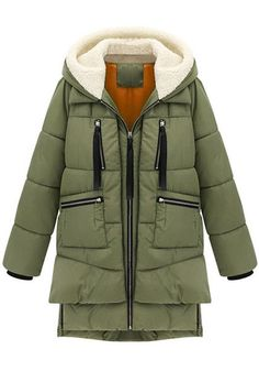 Army Green Down Coat. For those extra cold days. Giacche Invernali 57dc676cd929