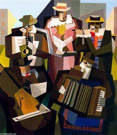Emilio Pettoruti (Argentine, 1892-1971)