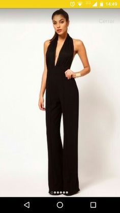 14ab32274f Sexy Hollow Out Plain Jumpsuits