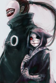 Eto and Noro, Tokio Ghoul. I'm so hooked on It!