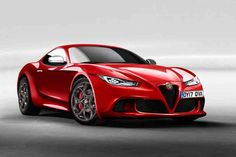 Alfa Romeo 6C Allegedly Given The Green Light For 2020 Launch #AlfaRomeo #6C #GreenLight #2020Launch #supercars