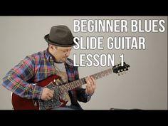 Beginner Slide Guitar Lesson Blues Slide Guitar Tuning - Where to Start Blues Guitar Lessons, Online Guitar Lessons, Acoustic Guitar Lessons, Guitar Lessons For Beginners, Easy Guitar Songs, Music Guitar, Playing Guitar, Lynyrd Skynyrd, Microondas Panasonic