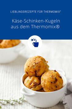 Käse-Schinken-Kugeln aus dem Thermomix® – Foto: Frauke Antholz